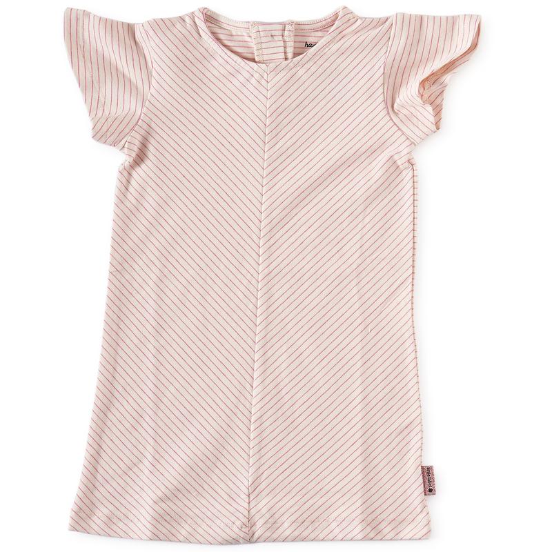 67c0aa3e679f98 baby jurkje roze gestreept little label