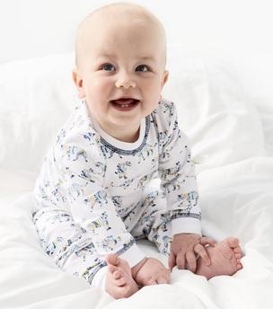 pyjama baby boy tiger blue - Little Label