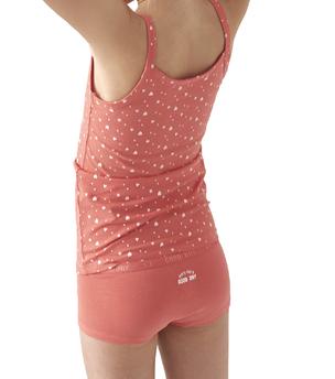 meisjes hemd bright pink assorti