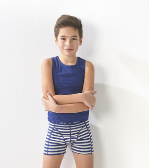 boxershorts 3-pack - toucan blue combi