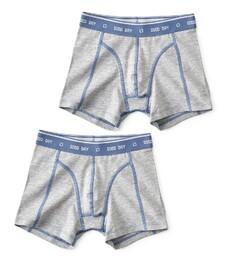 boxers set grey melee Little Label
