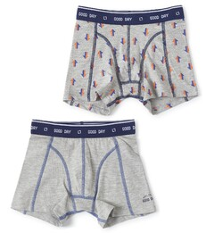 boxers set grey melee arrow & grey melee Little Label
