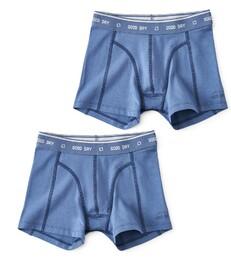 boxers set faded blue Little Label