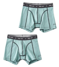 boxers set faded green Little Label