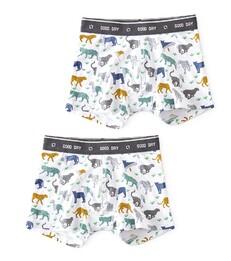 boxers set leopard Little Label