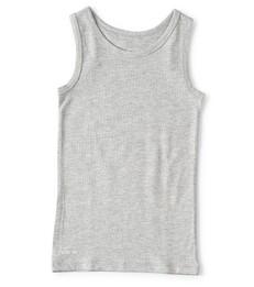 grijs jongens hemd Little Label