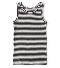 jongens hemd grijs gestreept Little Label