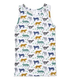 jongens hemd leopard Little Label