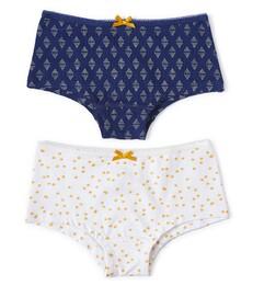 hipster set - dark blue triangle dot & sparkling gold dot Little Label
