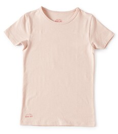meisjes t-shirt - light pink Little Label