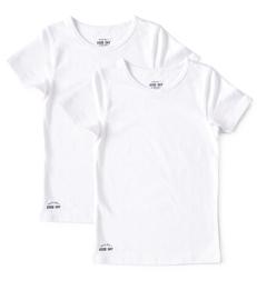 meisjes hemd white Little Label