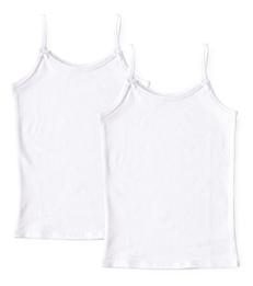 set witte meisjes hemdjes Little Label