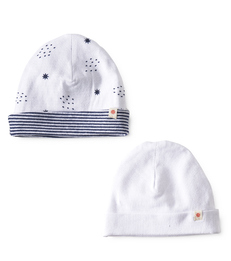 baby muts 2-pack - navy white