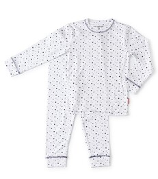 Meisjes pyjama white assorti - Little Label