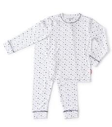 witte baby meisjes pyjama set - Little Label