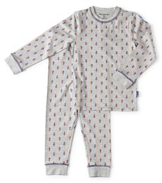 pyjama baby boys - grey melee arrow - Little Label