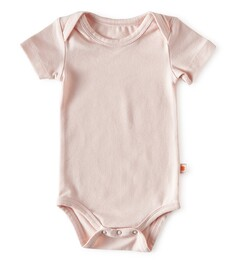 romper korte mouw - roze - Little Label