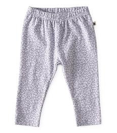Smal baby broekje - grey leopard - Little Label