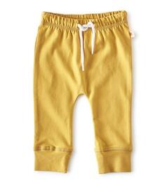 smal baby broekje - geel - Little Label