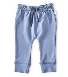 smal baby broekje - medium blue