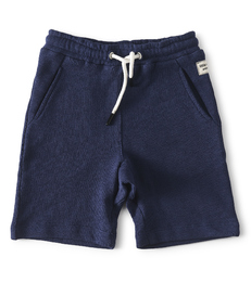 navy blue baby boy shorts - Little Label