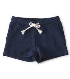 navy blue baby girls shorts - Little Label
