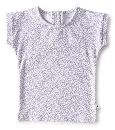 baby shirtje grey leopard Little Label