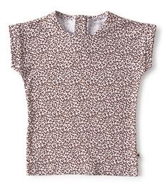 baby shirtje copper leopard Little Label