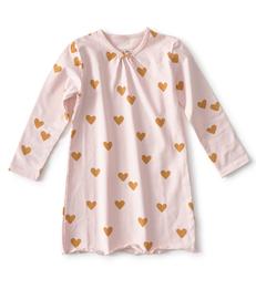 nachthemd meisjes hartjes Little Label