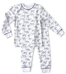 baby pyjama - tiger blue - Little Label
