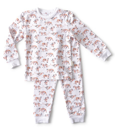 baby pyjama - tiger red - Little Label