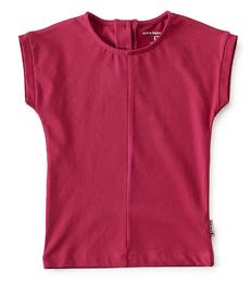 top meisjes - hard roze - Little Label