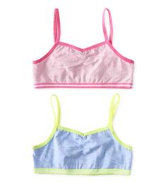 setje meisjes BH tops roze en blauw Little Label