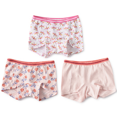 shorts setje meisjes roze prints Little Label