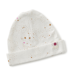 baby muts - off white caramel pink stars - Little Label