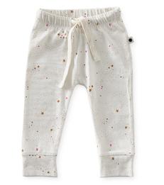 Smal baby broekje - wit sterren - Little Label