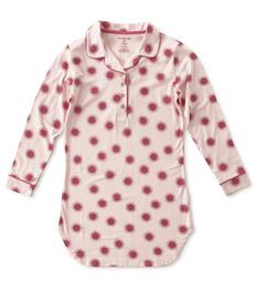 nachthemd dames roze fuchsia zonnetjes Little Label