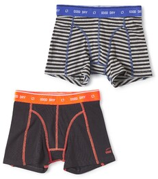 boxers set small anthracite stripe & anthracite Little Label