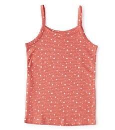 meisjes hemd bright pink assorti Little Label