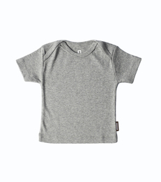 grijs baby shirtje little label