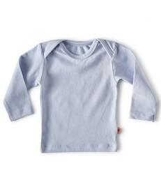 baby shirt lange mouw - lichtblauw - Little Label