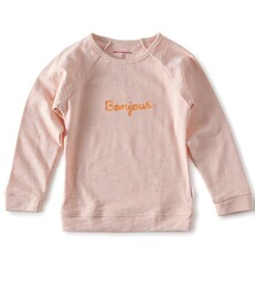 raglan sweater meisjes - light pink