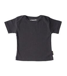 baby t-shirt korte mouw - anthacite
