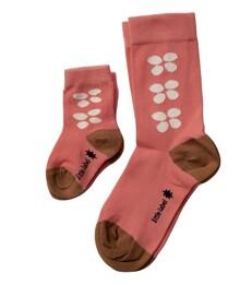 Baby sokjes pink flowers Little Label