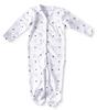babypakje met voetjes - blue starburst
