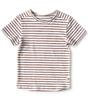 t-shirt korte mouw jongens - copper stripe