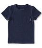 t-shirt korte mouw jongens - navy blue