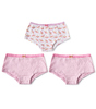 hipster meisjes 3-pack - dragonfly pink combi