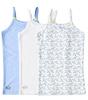 hemd meisjes 3-pack - blue combi