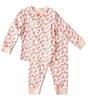 pyjama - pink flowers